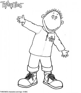 coloring page Tweenies (3)