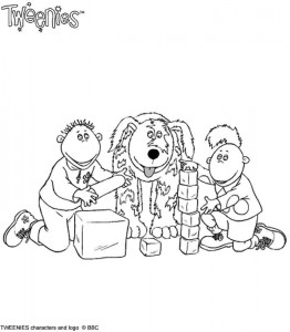 coloring page Tweenies (4)