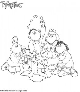 coloring page Tweenies (5)