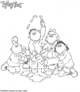 målarbok Tweenies (5)
