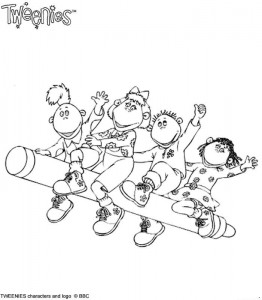 coloring page Tweenies (6)
