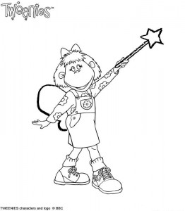 coloring page Tweenies (7)