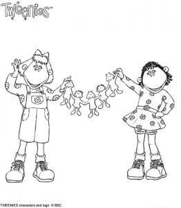 målarbok Tweenies (9)