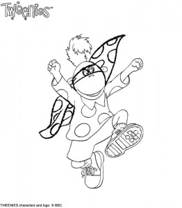 coloring page Tweenies