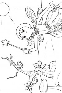 coloring page twinkle