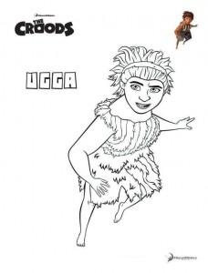 målarbok Ugga