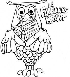 coloring page Owls (1)