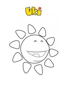 pagina da colorare Uki (5)