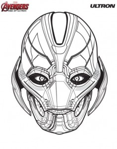 coloring page Ultron