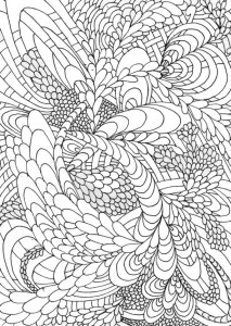 coloring page Unique for adults (2)