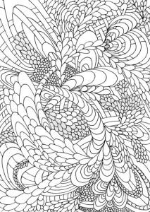 pagina da colorare Unica per adulti (2)