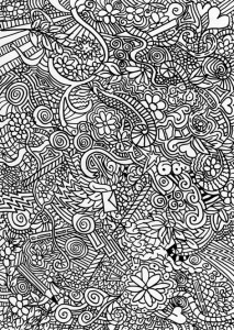 coloring page Unique for adults (3)