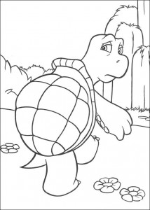 coloring page Verne (1)