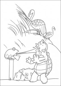coloring page Verne