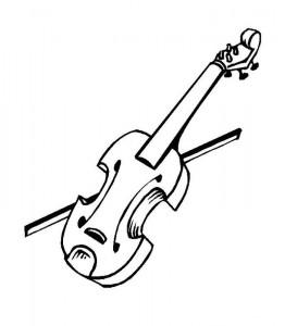 målarbok Violin (3)