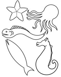 kleurplaat Vissen (11)