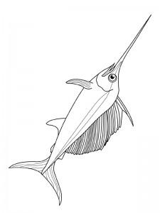 kleurplaat Vissen (18)