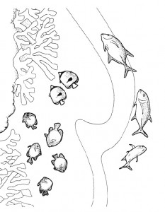 coloring page Pisces (25)