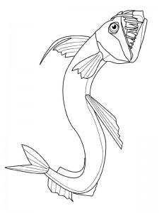 kleurplaat Vissen (26)