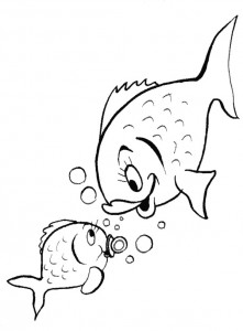 coloring page Pisces (27)
