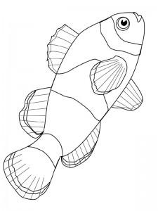 kleurplaat Vissen (35)
