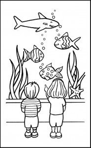 coloring page Pisces (39)