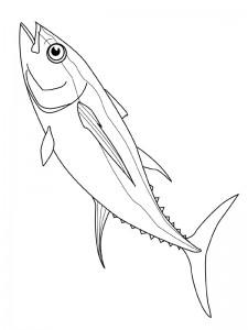 kleurplaat Vissen (4)