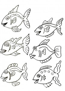 coloring page Pisces (41)