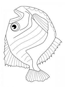 kleurplaat Vissen (9)