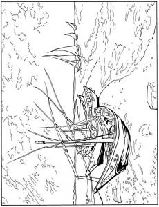 disegno da colorare Barche da pesca 1888
