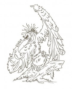 coloring page Vlad