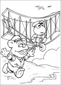 coloring page Flying