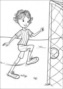 målarbok Fotbollar (2)