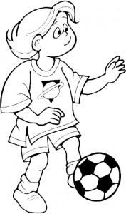coloring page Soccer balls (5)