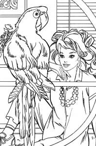раскраска Птицы (11)