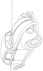 målarbok Volkswagen Beetle (2)