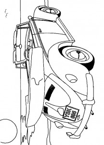coloring page Volkswagen Beetle Convertible (1)