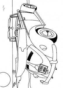målarbok Volkswagen Beetle Cabriolet (1)