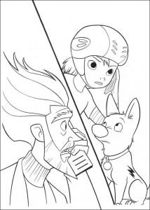 pagina da colorare Volt (3)
