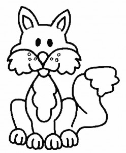 coloring page Foxes (8)
