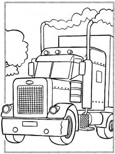 målarbok Lastbilar (1)