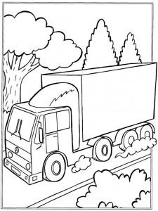 målarbok Lastbilar (4)