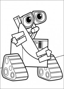 coloriage Wall-e (1)