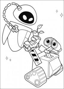 kleurplaat Wall-e (23)