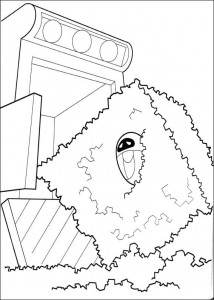 kleurplaat Wall-e (27)