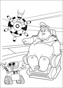 kleurplaat Wall-e (29)
