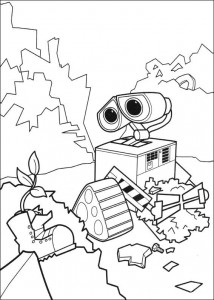 coloriage Wall-e (3)