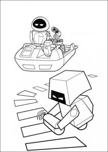 kleurplaat Wall-e (30)