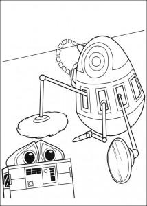 kleurplaat Wall-e (50)