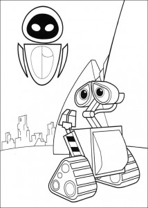 coloriage Wall-e (7)